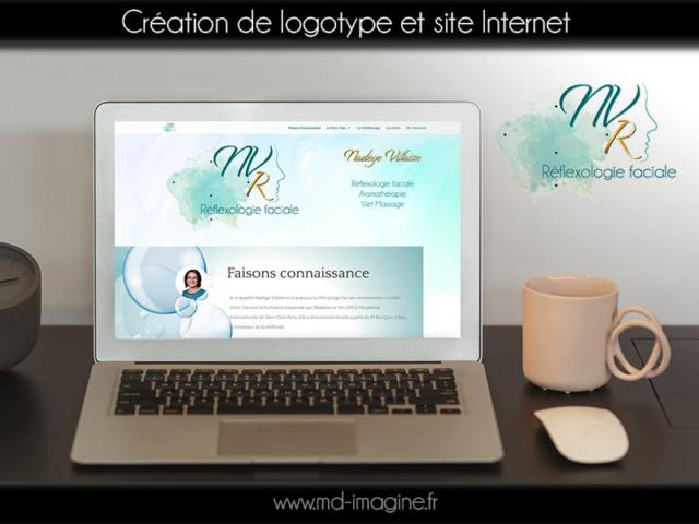 Réalisation graphique du logo, de la charte web et du site Internet